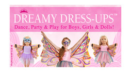 Dreamy-Dress Ups Logo